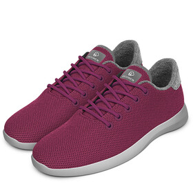 Giesswein Merino Wool Knit Runners Women burgundy